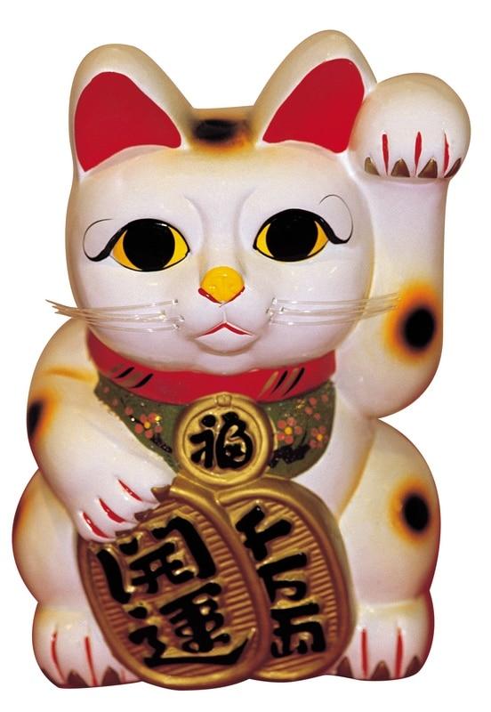 Happy Chinese Cat